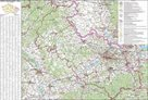 Kraj - Moravskoslezský -ZES- 1:150 000 - nástěnná mapa