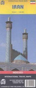 Írán - mapa ITM 1:1 800 000