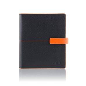 ADK Diář Linea A6 2021 - černo/oranžový