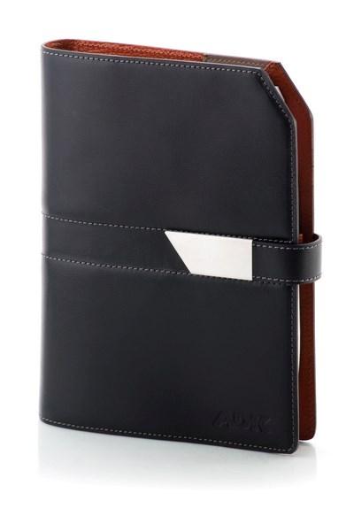 ADK Diář NewClassic Slim A5 2020 - oranžovo/černý
