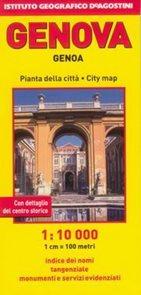 Genova /Janov/ - plán DeAgostini 1:10 000 /Itálie/