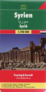 Sýrie - mapa Freytag - 1:700 000