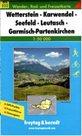 Wetterstein, Karwendel, Seefeld, Leutasch, Garmisch-Partenkirchen - mapa WK č.322 - 1:50 000 /Německ