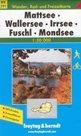 Mattsee, Wallersee, Irrsee, Fuschl, Mondsee - mapa WK391 - 1:50t /Rakousko/