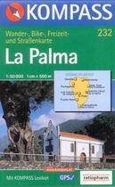 La Palma - mapa Kompass č.232 - 1:50t