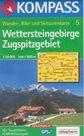 Wettersteingebirge, Zugspitzgebiet - mapa Kompass č.5 - 1:50t /Rakousko,Německo/