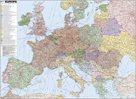 Evropa - železniční - 1:3 400 000 - nástěnná mapa /ZES/