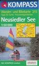 Neusiedler See /Neziderské jezero/ - mapa Kompass č.215 - 1:50t /Rakousko,Maďarsko/