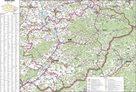 Kraj - Zlínský -ZES- 1:115 000 - nástěnná mapa