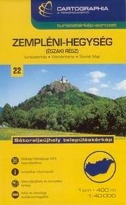 Maďarsko - Zempléni -sever- mapa CB22 - 1:40t