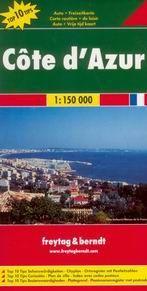 Francie -Cote dAzur- mapa Freytag 1:150 000
