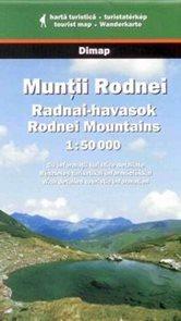 Rumunsko - Muntii Rodnei - mapa DiM15 - 1:50t