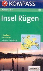 Insel Rügen /Rujana/ - mapa Kompass č.737 - 1:50t /Německo/