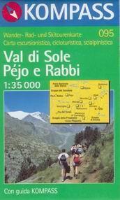 Val di Sole, Péjo e Rabbi - mapa Kompass č.095 - 1:35t /Itálie/