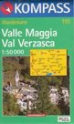 Valle Magia,Val Verzasca - mapa Kompass č.110 - 1:50t /Itálie,Švýcarsko/