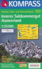 Inneres Salzkammergut, Ausseerland - mapa Kompass č.020 - 1:25t /Rakousko/
