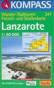 Lanzarote - mapa Kompass č.241 - 1:50t /Kanárské ostrovy/