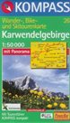 Karwendelgebirge - mapa Kompass č.26 - 1:50t /Rakousko,Německo/
