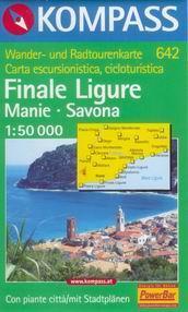 Final Ligure, Manie, Savona - mapa Kompass č.642 - 1:50t /Itálie/
