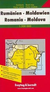 Rumunsko, Moldavsko - mapa FR 1:500 000