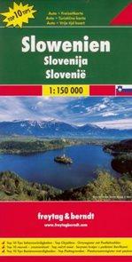 Slovinsko - mapa Freytag&Berndt - 1:150t