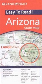 USA - Arizona - mapa Rand McNally