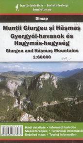 Rumunsko - Muntii Giurgeu si Hasmas - mapa DiM20 - 1:60t