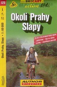 Okolí Prahy - Slapy - cyklo SH125 - 1:60