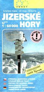 Jizerské hory - mapa Žaket - zimní 1:60