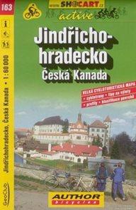 Jindřichohradecko, Česká Kanada - cyklo SH163 - 1:60 000
