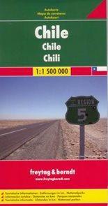 Chile - mapa Freytag&Berndt 1:1,5m