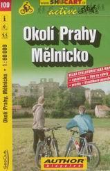Okolí Prahy - Mělnicko - cyklo SH109 - 1:60t