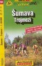 Šumava - Trojmezí - cyklo SHc156 - 1:60t