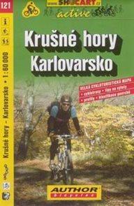 Krušné hory - Karlovarsko - cyklo SHc121 - 1:60t