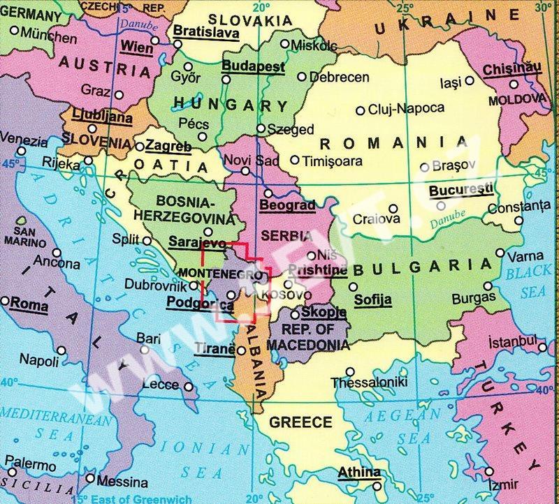 Mapa Skiresort Cerna Hora Pec