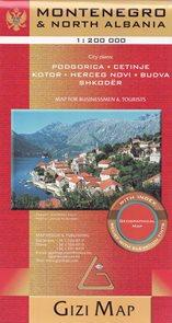 Černá Hora - mapa Gizi - 1:200t