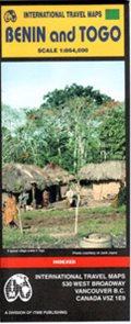 Benin a Togo - mapa ITM - 1:864 000