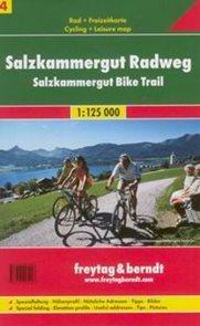 Salzkammergut Radweg - cykloprůvodce Freytag č.4 - 1:125t /Rakousko/