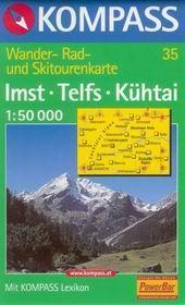 Imst, Telfs, Kühtai - mapa Kompass č.35 - 1:50t /Rakousko/