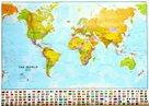 Svět - politické rozdělení - 1:30 000 000 - nástěnná mapa /ZES/