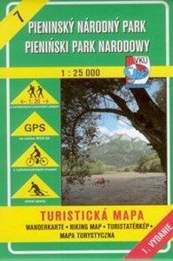 Pieninský národný park - mapa VKÚ č.7 - 1:25 000 /Slovensko/