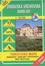 Ondavská vrchovina, Bardejov - mapa VKÚ č.105 - 1:50 000 /Slovensko/