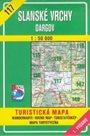 Slanské vrchy, Dargov - mapa VKÚ č.117 - 1:50 000 /Slovensko/