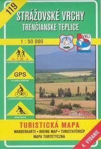 Strážovské vrchy, Trenčianské Teplice - mapa VKÚ č.119 - 1:50 000 /Slovensko/