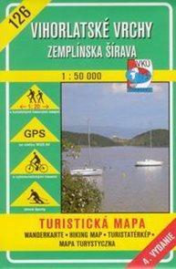 Vihorlatské vrchy, Zemplínská Šírava - mapa VKÚ č.126 - 1:50 000 /Slovensko/