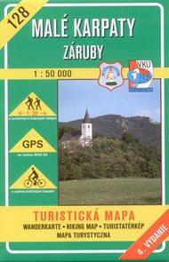 Malé Karpaty - Záruby - mapa VKÚ č.128 - 1:50 000 /Slovensko/