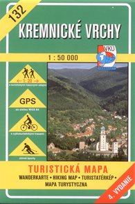 Kremnické vrchy - mapa VKÚ č.132 - 1:50 000 /Slovensko/