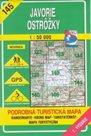 Javorie, Ostrožky - mapa VKÚ č.145 - 1:50 000 /Slovensko/
