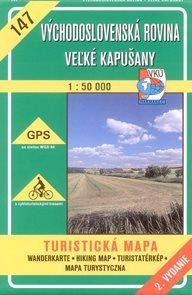 Východoslovenská rovina, Velké Kapušany - mapa VKÚ č.147 - 1:50 000 /Slovensko/
