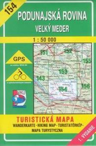 Podunajská rovina,Velký Meder - mapa VKÚ č.154 - 1:50 000 /Slovensko/